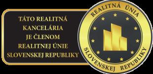 Prvý domov - táto realitná kancelária je členom realitnej únie SR